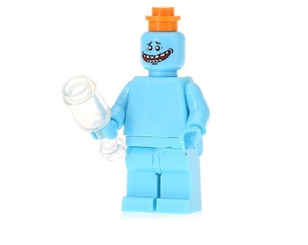 Mr Meeseeks LEGO Inspired Minifigure Rick And Morty