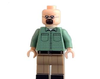 Walter White Minifigure Shirt Style