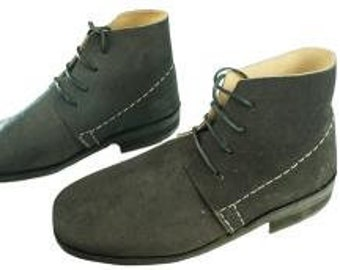 Used Civil War Jefferson Brogans Size 12