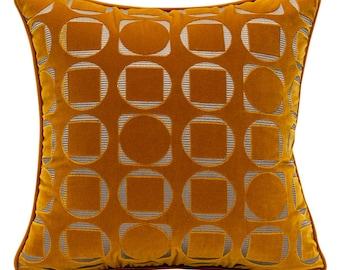 Throw Pillow Covers Velvet Pillow, Cushion Cover Velvet Cushion, Throw Pillow Decorative Pillows, Pillow Covers Orange Throw Pillows, Pillow