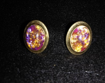 Galaxy Pink and Orange Cufflinks!