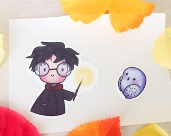 Harry and Hedwig Stickers