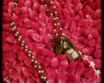Sowing Seeds Vintage Necklace