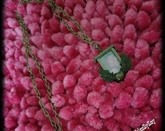 Angel Heart Locket Necklace