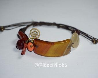 Bead stone bracelet