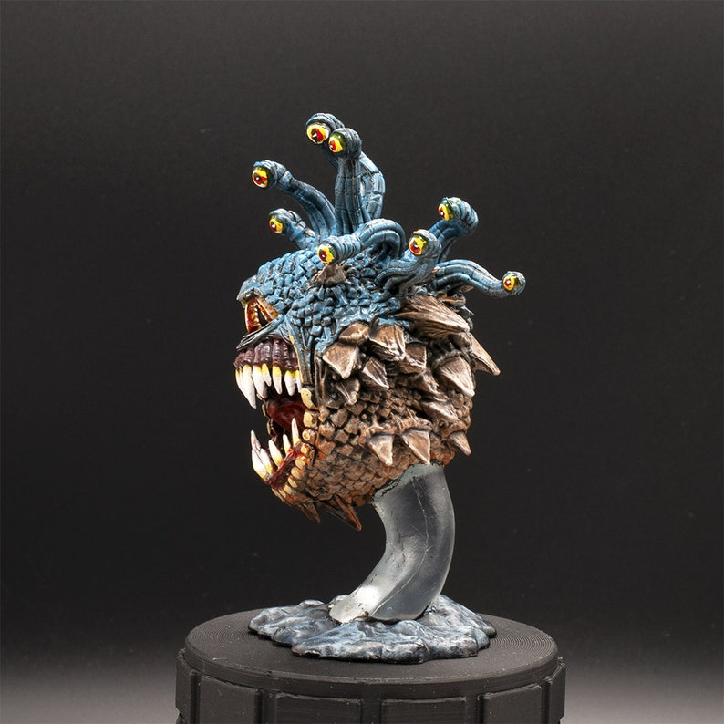 Painted Miniature Dungeons /& Dragons Beholder Xanathar Style Nolzur/'s