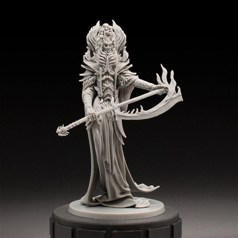 Demon Lord - Oni of Spite - Unpainted Miniature - Rising Sun - Dungeons &  Dragons