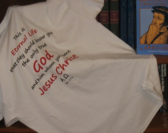 Eternal Life WearableTracts men's t-shirt