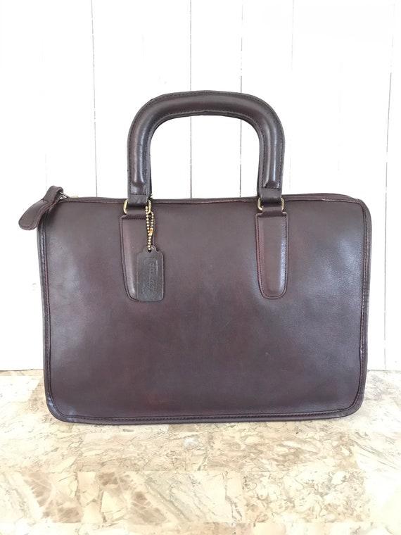 RARE coach vtg Bonnie cashin bag 70s briefcas /  p