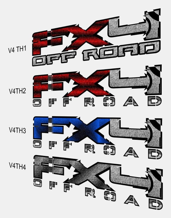Ford F150 Sport Stickers Bedside Decal 2015 2016 Decals Vinyl Cut Pair Sticker f