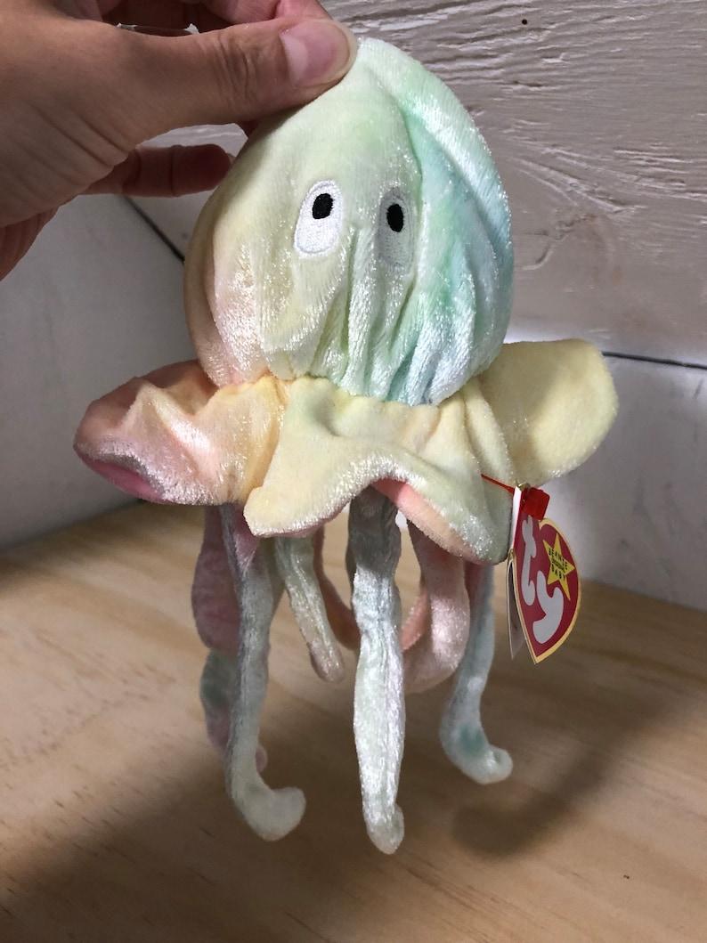 c4c98488662 Goochy Beanie Baby TY Beanie Baby jellyfish beanie baby