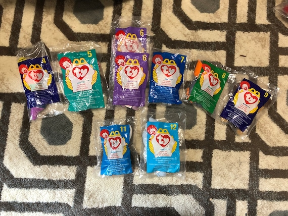 McDonald s TY Beanie Babies 9 miscellaneous pieces  c03cd473523