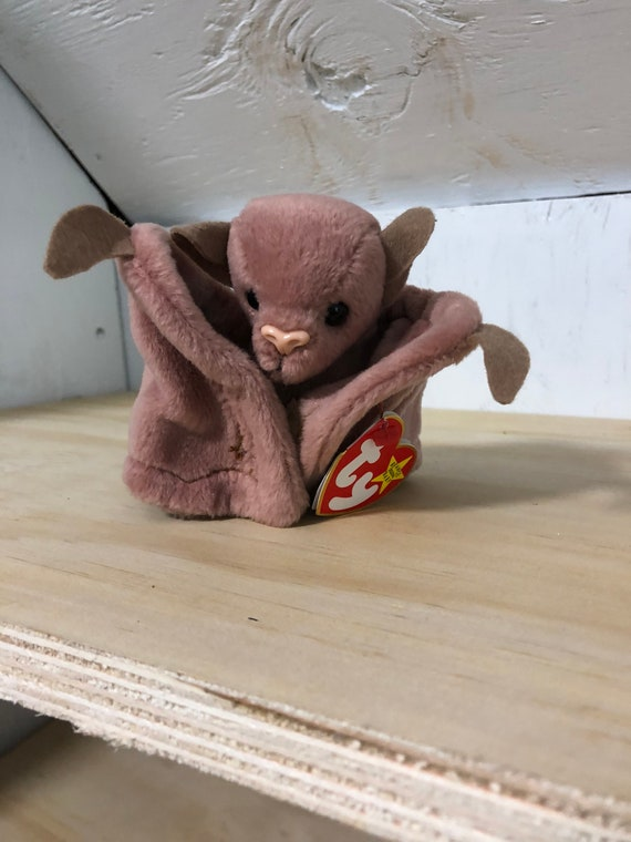 Batty Beanie Baby TY Beanie Baby bat beanie baby Batty  4586a6680