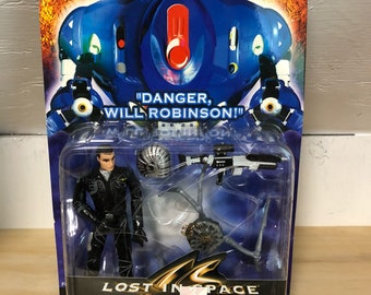 LOST IN SPACE Battle Armor Major Don West with Magnetic Attack Power-Leap Spider