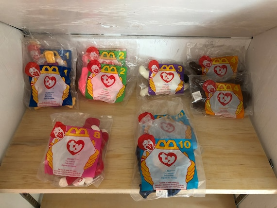 McDonald s Happy Meal TY Beanie babies Happy meal toys  3bc8fd4bbab