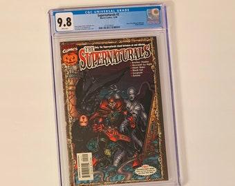 Supernatural's #2 CGC 9.8 Comic Book Top of Census w/ Halloween Mask! Brother Voodoo, Werewolf by Night, Ghost Rider, Black Cat, Gargoyle +