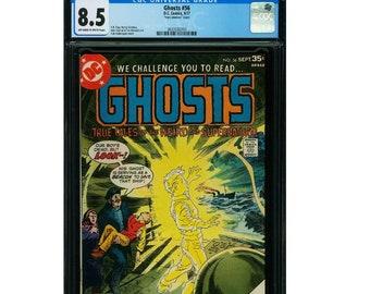 Ghost #56 CGC 8.5 Sept. 1977 Horror Comic Book DC Comics Charlton Comics