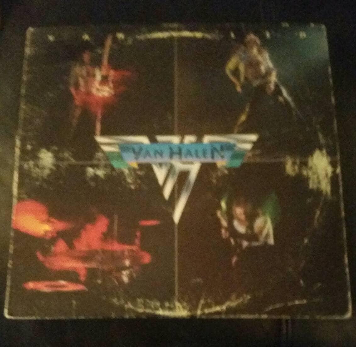 842622336f0 Van Halen Vinyl 1st Album 1st US Press Release1978 Van