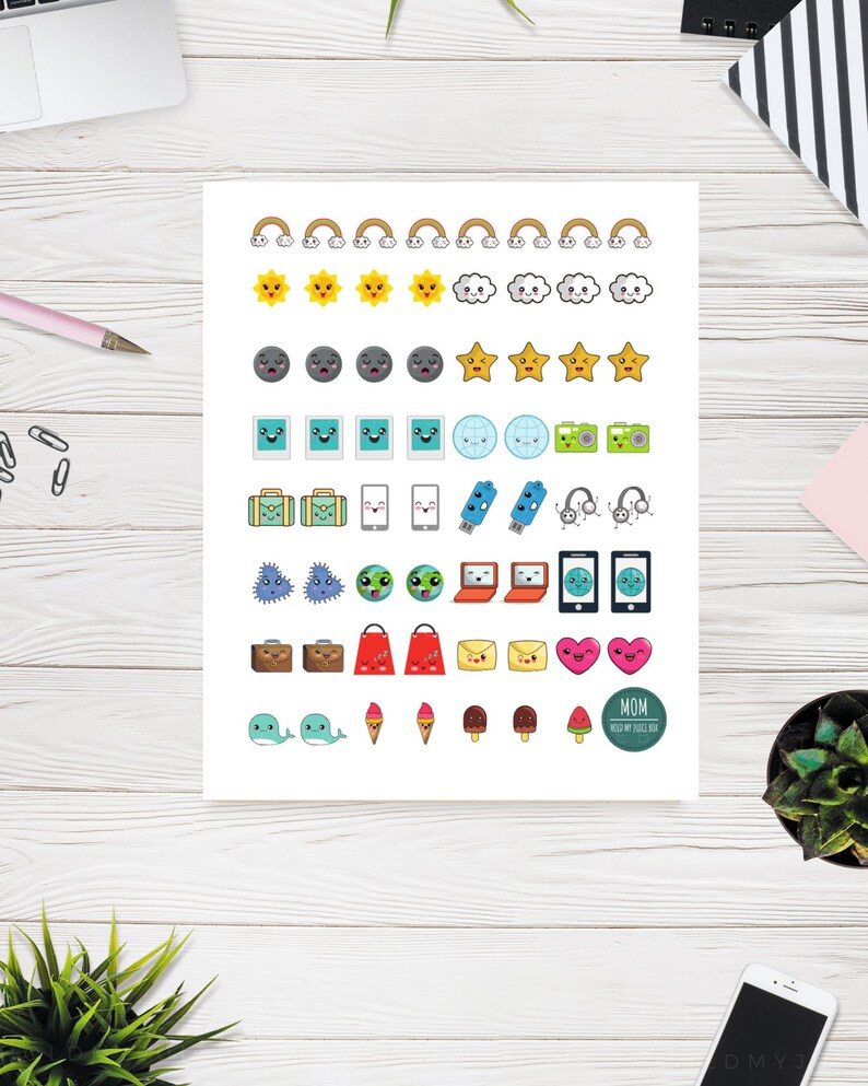 picture relating to Aesthetic Stickers Printable named Kawaii Stickers, Printable Stickers, Aesthetic Stickers, Kawaii Stationary, Kawaii, Printable, Stickers