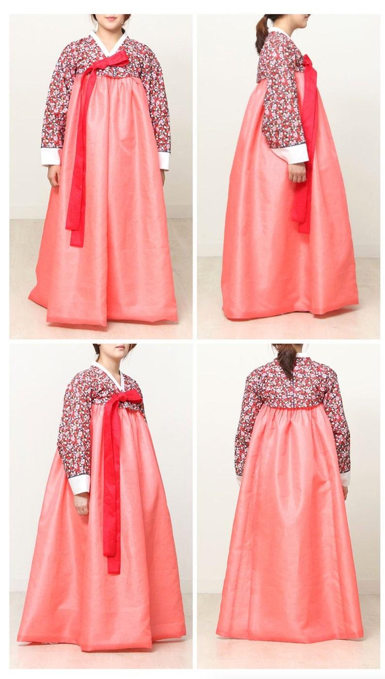 Pattern Sheet Korean Traditional Women HANBOK