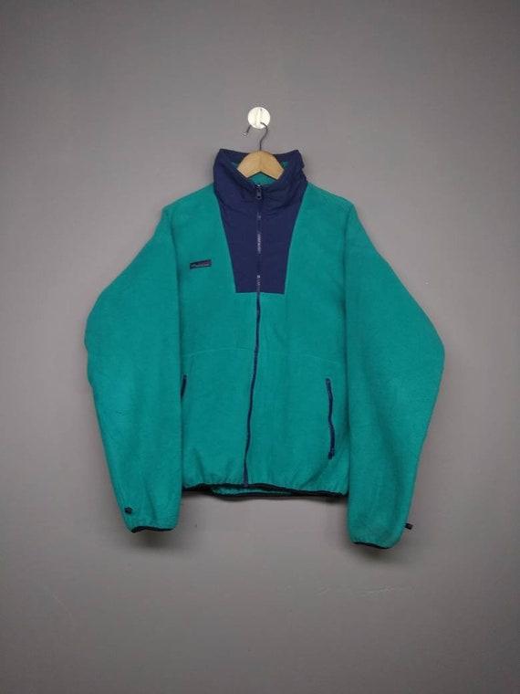 Vintage 90s Columbia Fleece Jacket Look Like Patag