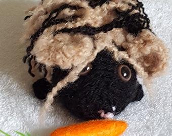 Hand Crocheted Guinea Pig