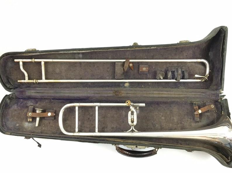 C G Conn Trombone Turn of the Century Antique Serial Number 80,594
