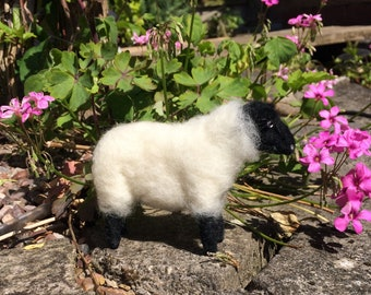Needle Felted Suffolk Sheep
