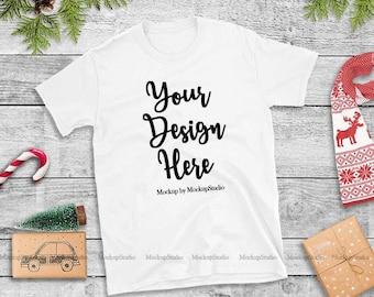 63780a3c1d1d Christmas T-Shirt Mock Up