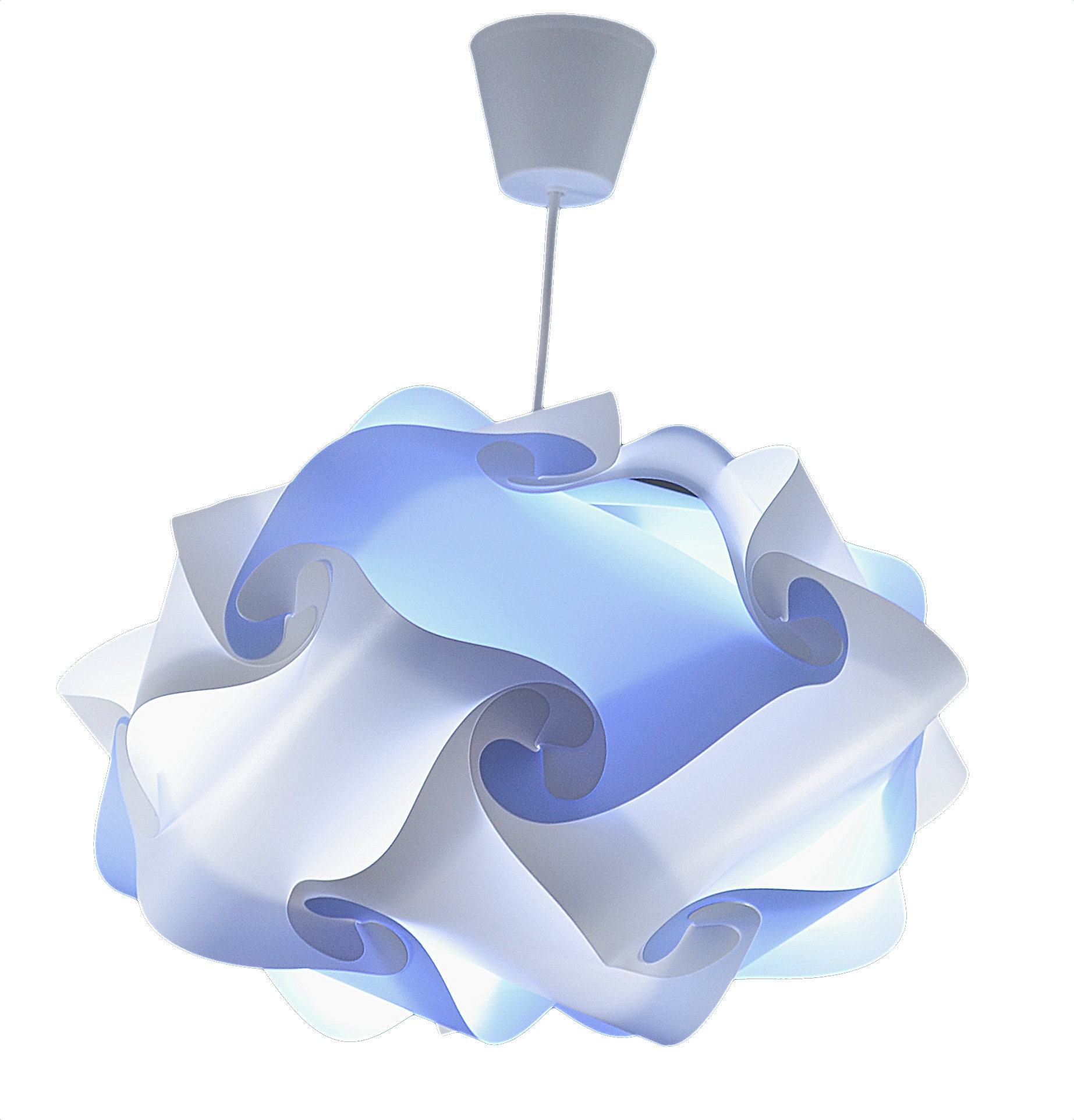 CREATIV LAMP - Suspension Luminaire - Abat Jour à suspendre - Décoration  salon, Chambre Enfant, Ado, Adulte - Ø17 cm - Mix