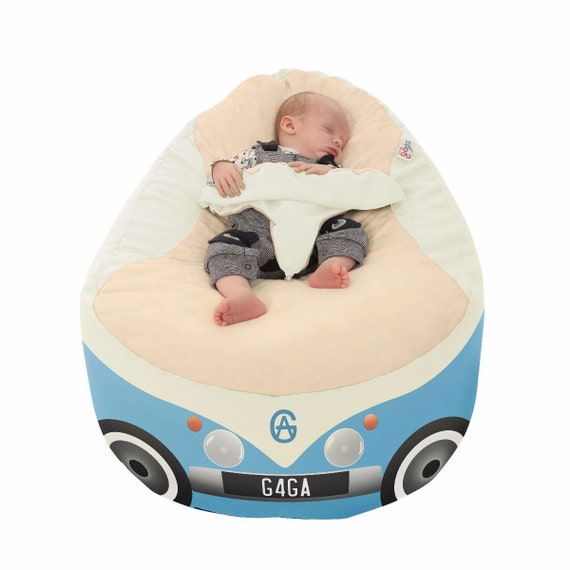 Enjoyable Iconic Campervan Gaga Baby Bean Bag To Toddler Gamerscity Chair Design For Home Gamerscityorg