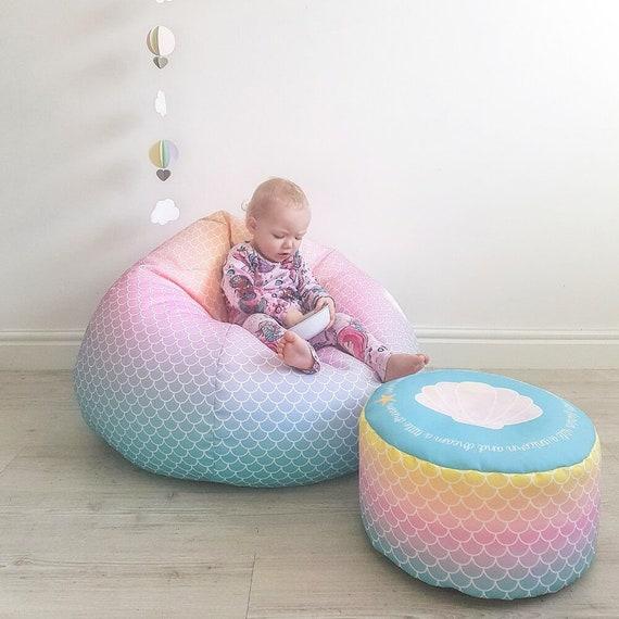 Magnificent Childrens Beanbag Mermaid Machost Co Dining Chair Design Ideas Machostcouk