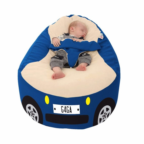 Incredible Racing Car Gaga Baby Bean Bag To Toddler Pabps2019 Chair Design Images Pabps2019Com