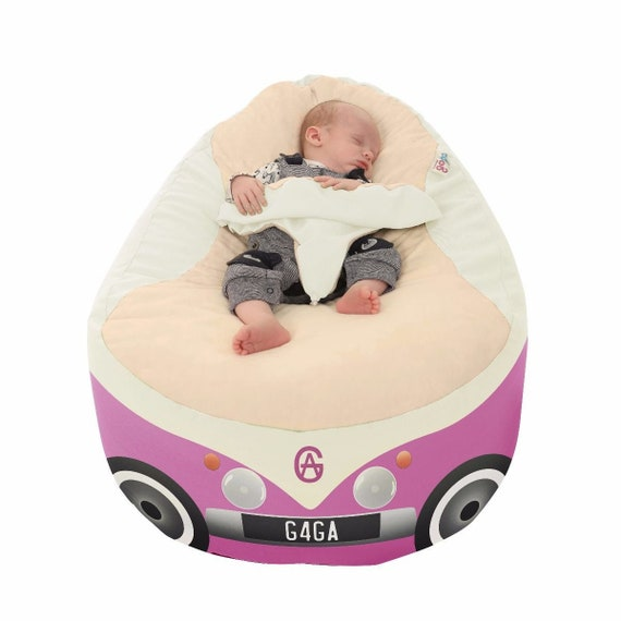 Peachy Iconic Campervan Gaga Baby Bean Bag To Toddler Pabps2019 Chair Design Images Pabps2019Com