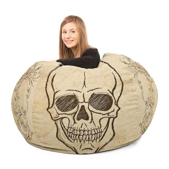 Incredible Vintage Skull Beanbag Chairs Forskolin Free Trial Chair Design Images Forskolin Free Trialorg