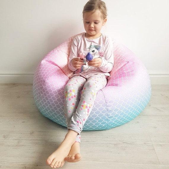 Admirable Childrens Beanbag Mermaid Machost Co Dining Chair Design Ideas Machostcouk