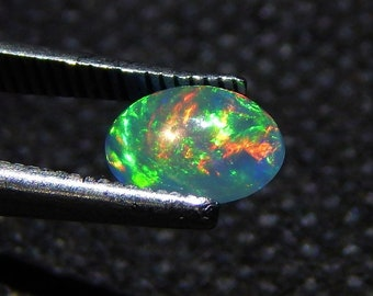 Fine 100% Natural Ethiopian Welo Fire Opal Oval Shape Cabochon Stone 3.90 Cts Jewelry & Watches Loose Gemstones