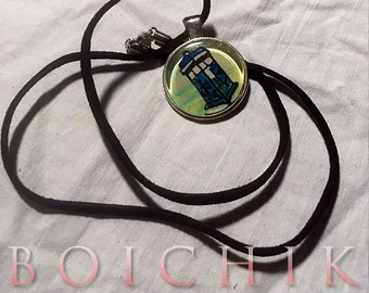 Doctor Who - TARDIS - Pendant - Necklace
