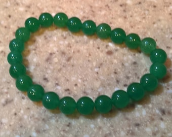 Green Quartz Anklet