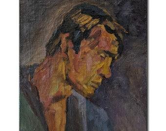 Duroc Vintage Male Portrait European Portraits Antique Fine Art Print