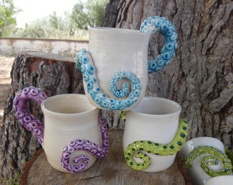 Jug/Mug Octopus tentacle