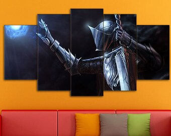 Dark Souls Art, Dark Souls, Games Canvas, Dark Souls Print, Action/RPG Art, Dark Souls Wall Art, Dark Souls Canvas, Dark Souls wall decor