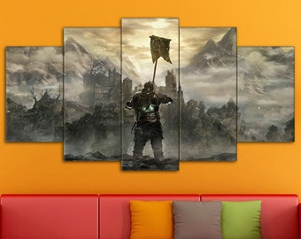 Dark Souls Wall Art, Games Canvas, Dark Souls Print, Action/RPG Art, Dark Souls, Dark Souls Art, Dark Souls Canvas, Dark Souls wall decor