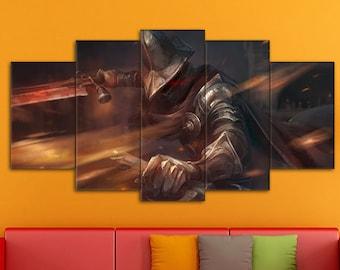 Dark Souls Wall Art, Games Print, Dark Souls Canvas, Dark Souls Art, Dark Souls, Dark Souls Print, Action/RPG Art, Dark Souls wall decor