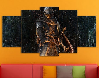 Dark Souls, Games Canvas, Action/RPG Art, Dark Souls Canvas, Dark Souls Print, Dark Souls Wall Art, Dark Souls Art, Dark Souls wall decor