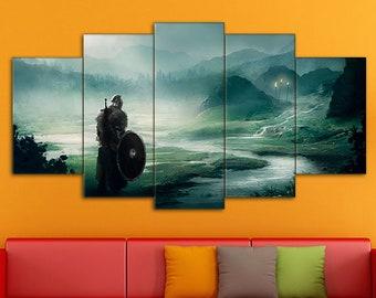 Dark Souls Print, Action/RPG Art, Dark Souls Wall Art, Dark Souls, Dark Souls Art, Dark Souls Canvas, Games Canvas, Dark Souls wall decor