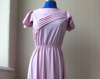 Vintage Lady Carol Petites of New York women's 70's dress