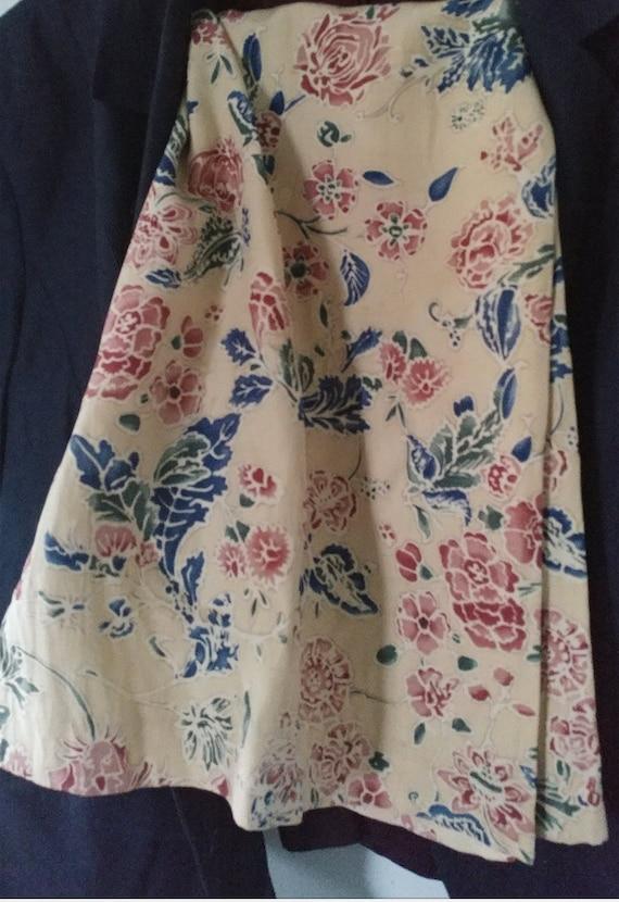 Linen Summer Jacket and Skirt