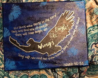 Isaiah 40:31 Canvas