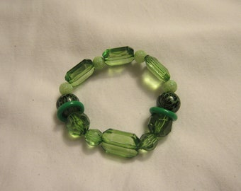 Shades of Green #2 bracelet
